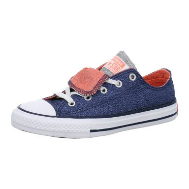 Converse Chucks KIDS Low CTAS Double Tongue