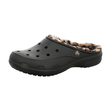 Crocs Clogs Crocs Freesail Leopard Lined