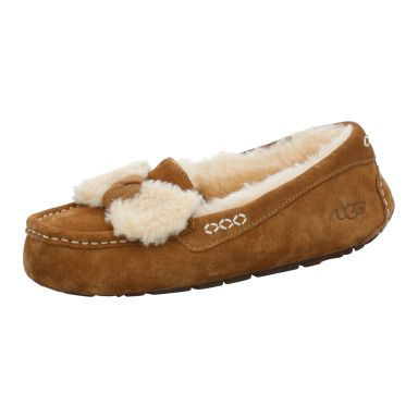 UGG Boots Hausschuhe Winter Ansley Fur Bow