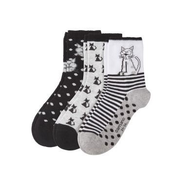camano Socken Children Fashion Socks - black