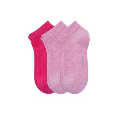 camano Socken Children Fashion 3P- pink mel.
