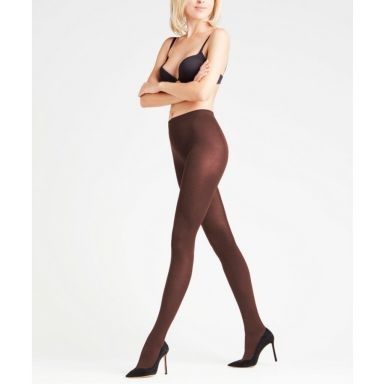 Falke Strumpfhosen Cotton Touch Tights - cigar