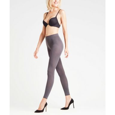 Falke - Cotton Touch Leggings - anthra