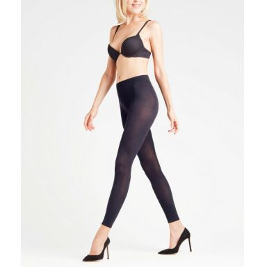 Falke - Cotton Touch Leggings - marine
