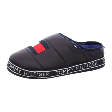 Tommy Hilfiger Hauspantoffel Winter Flag Patch Downslipper