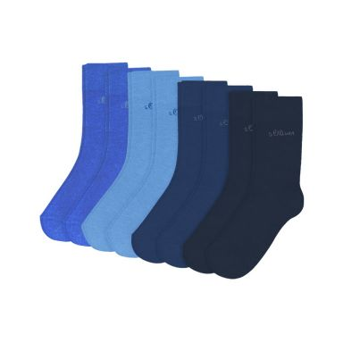s.Oliver Socken Junior Socks 9 Paar - blue
