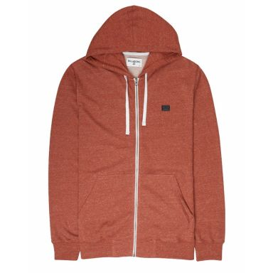 Billabong Kapuzenjacke All Day Zip Hoodie-rustic red