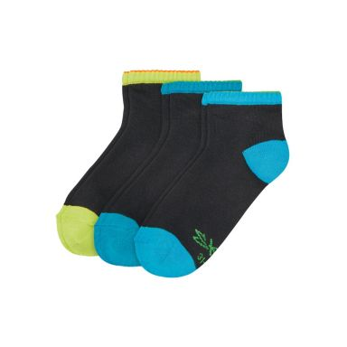 Skechers Socken Boys Quarter Socks 3p - black