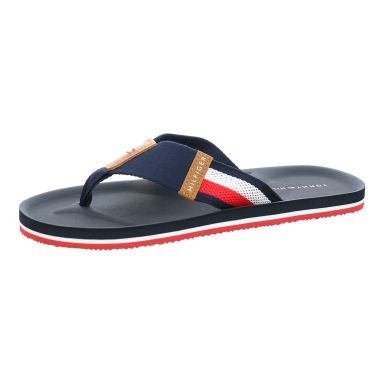 Tommy Hilfiger Badeschuhe Corporate Stripe Beach Sandal