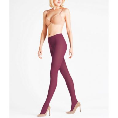 Falke Strumpfhosen Pure Matt 50den Tights - pinot