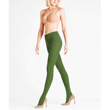 Falke Strumpfhosen Pure Matt 50den Tights - woods