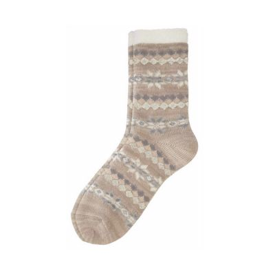 camano Socke Women Christmas Socks - taupe