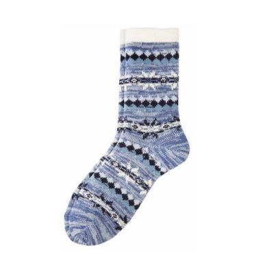 camano Socke Women Christmas Socks-ice blue