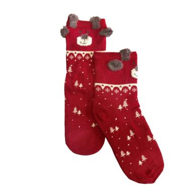 Pusch-iT Socke Cute X-Mas Bear