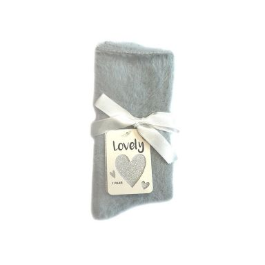 Pusch-iT Socke Lovely Soft Socks - Light Grey