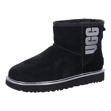 UGG Boots Stiefelette, gefüttert Classic Mini UGG Rubber Logo