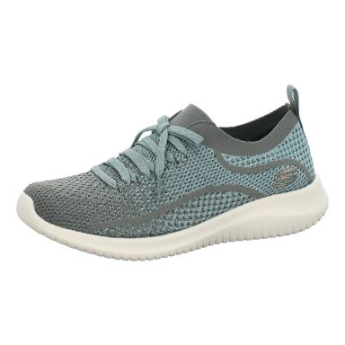 Skechers Sneaker Slipper Ultra Flex - Silver Surfing