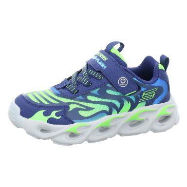 Skechers Klettschuhe Sportboden S Lights® - Thermo-Flash