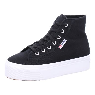 Superga Leinenstiefel 2705 Hi Top