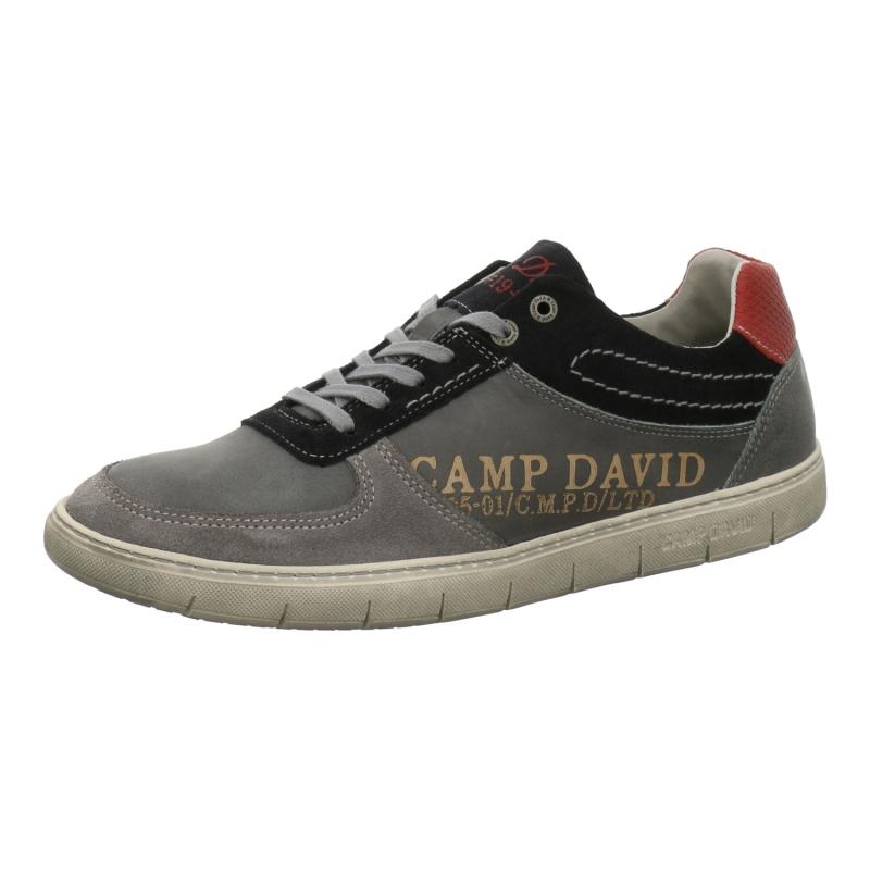 camp david sneaker sneaker lace up in grau 1aschuh. Black Bedroom Furniture Sets. Home Design Ideas