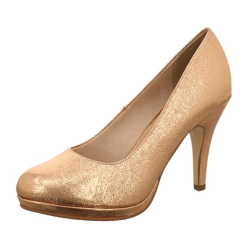 tamaris pumps in gold silber bronce 1aschuh. Black Bedroom Furniture Sets. Home Design Ideas
