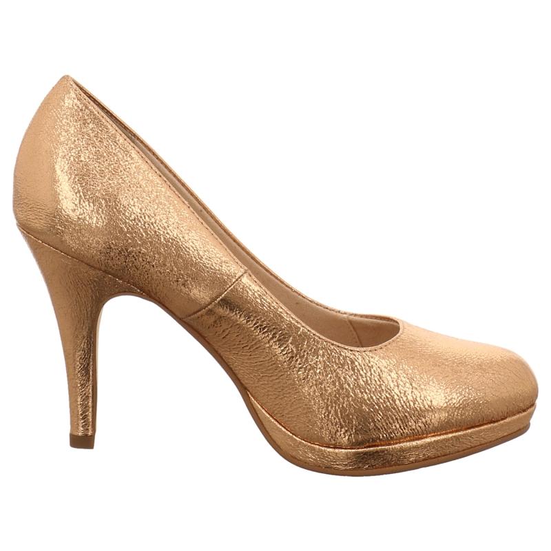 Tamaris Pumps In Gold Silber Bronce 1aschuh