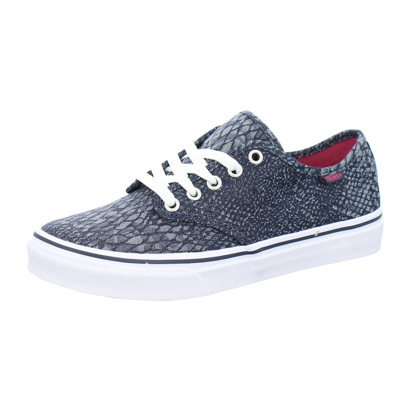 Vans Girl's Canvas Sneaker Camden Stripe