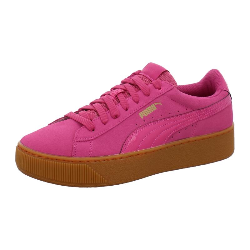 Puma Sneaker Puma Vikky Platform in lila rosa pink | 1aschuh
