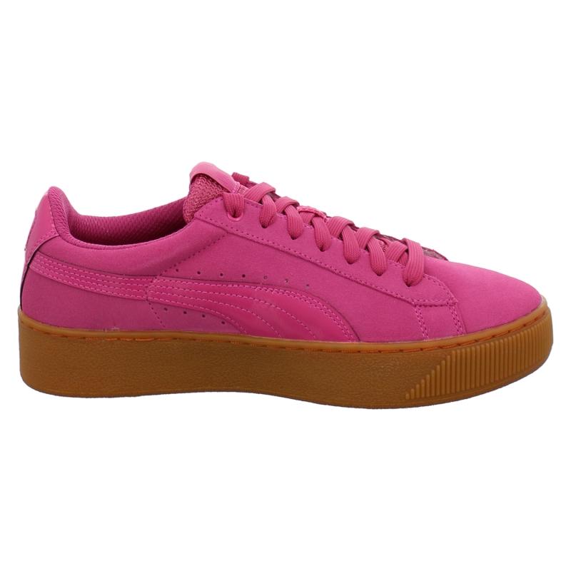 Puma Pink Plateau Sneaker Puma Vikky Platform