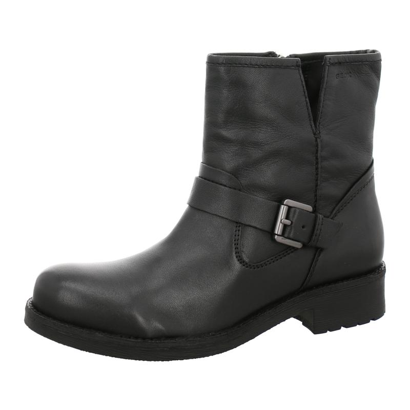 Geox - Damen - D New Virna E D7451E - Stiefeletten & Boots - schwarz jYZhs