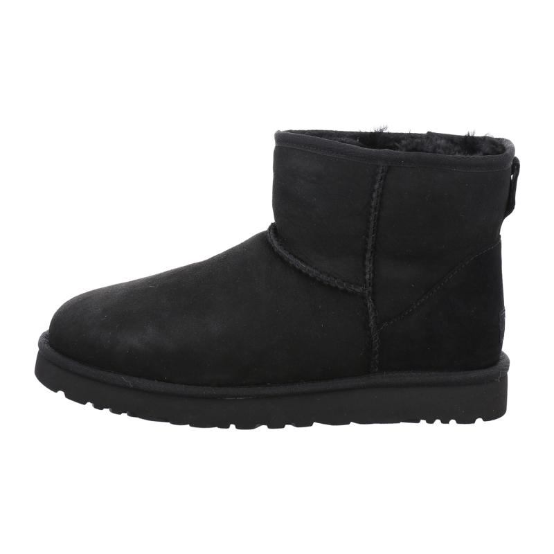 Ugg Boots Fellschuhe Classic Mini In Schwarz 1aschuh
