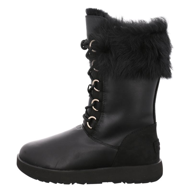 Ugg Boots Schaftstiefel Aya Waterproof In Schwarz 1aschuh