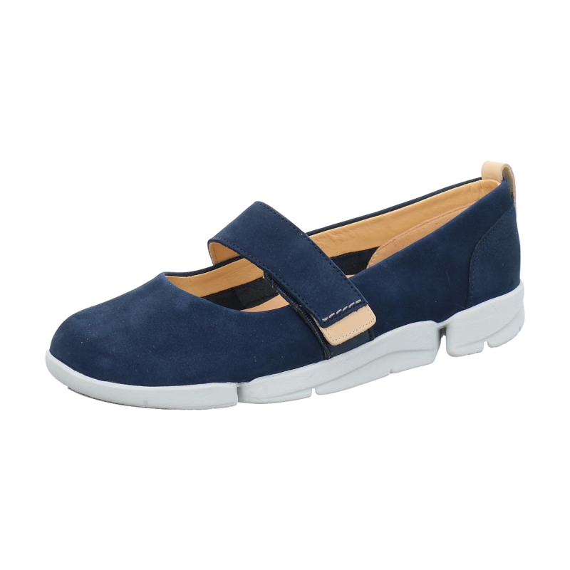 Clarks Schuhe Tri Carrie blau hj25mA