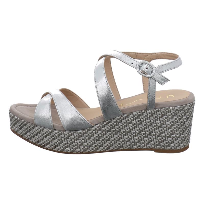 Unisa Sandale In Gold Silber Bronce 1aschuh