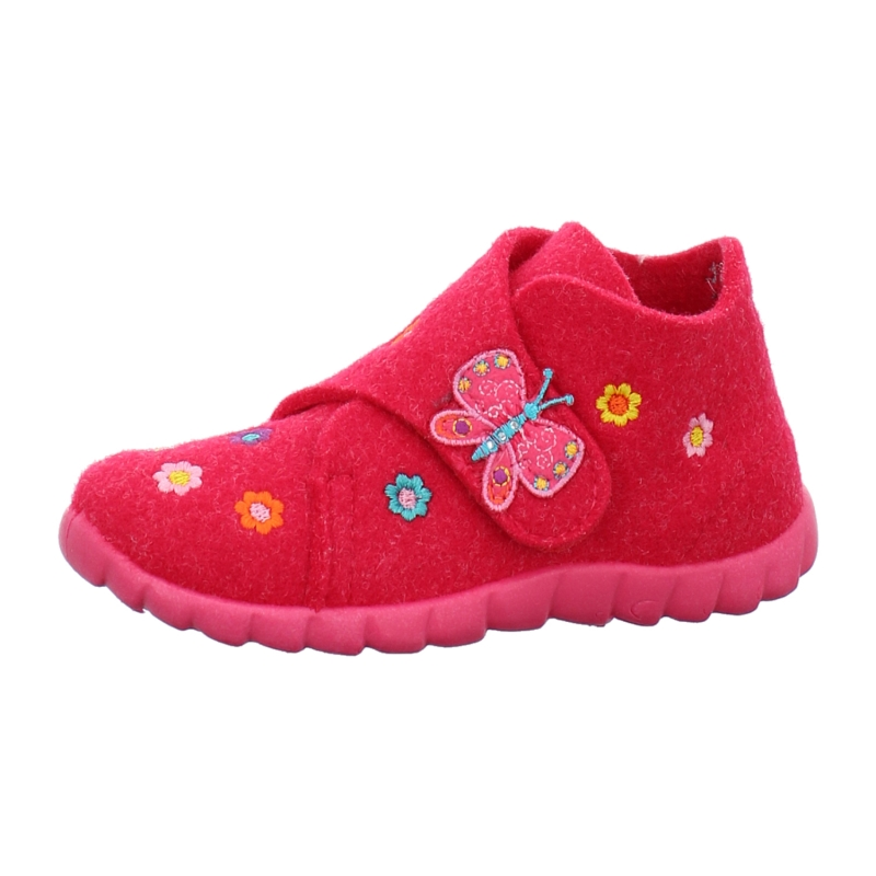 88cb27be4bb0ed Superfit Hausschuhe Winter Happy in lila   rosa   pink