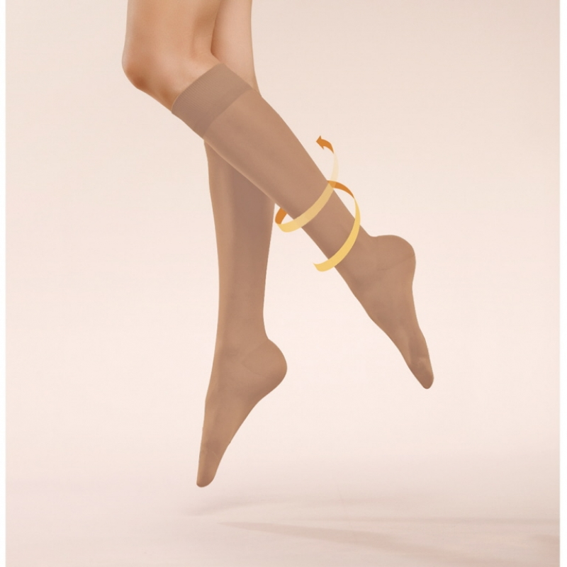 Women Basic Aktive 40 DEN Knee