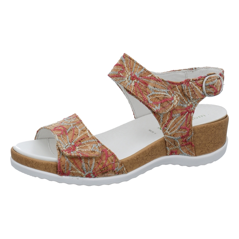 buy online e5ad3 a2189 Waldläufer - Sandale mit Wechselfußbett - Hilda