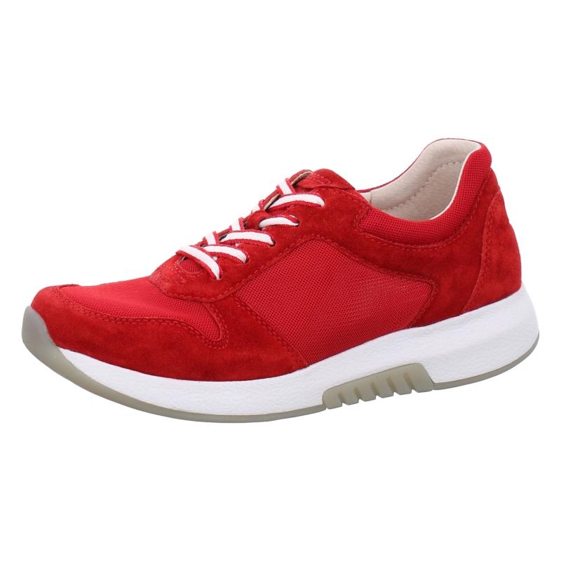 Collonil Nubuk Textile Farbpflege Farbe Taupe Collonil Und: Gabor Schnürschuhe Rolling Soft In Rot