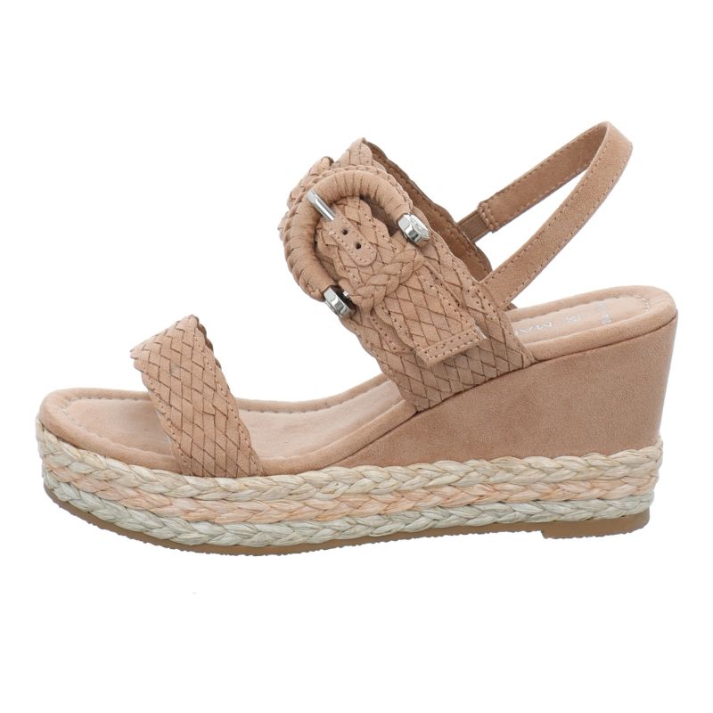 Marco Tozzi Sandale in lila / rosa / pink | 1aschuh