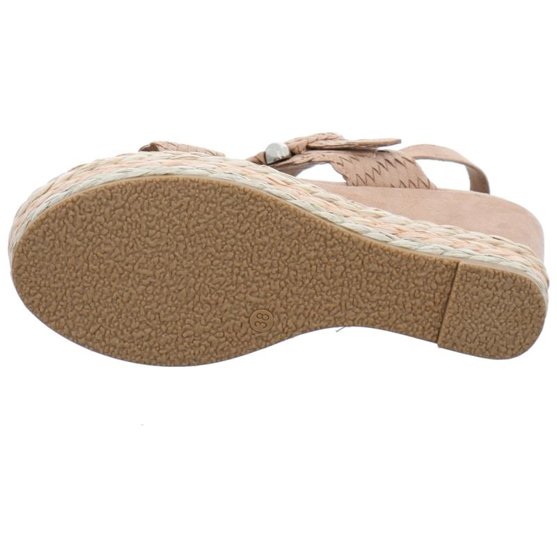 Sandalen MARCO TOZZI - 2-28211-26 Nude 408 - Alltägliche