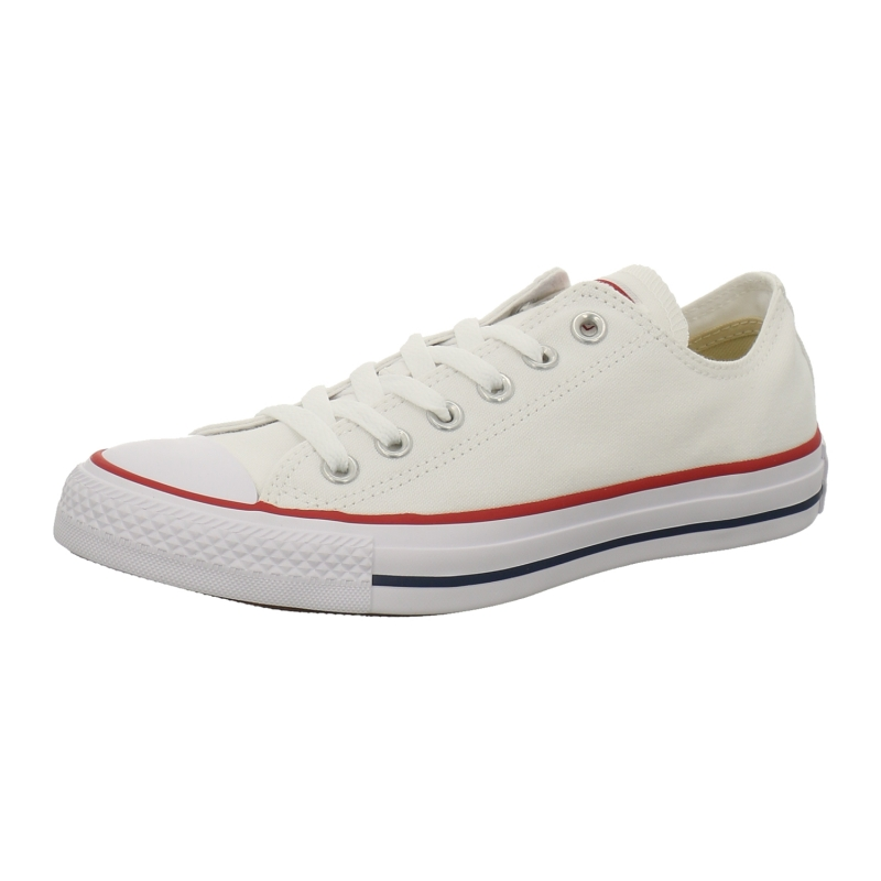 converse chucks low all star ox in weiss 1aschuh. Black Bedroom Furniture Sets. Home Design Ideas